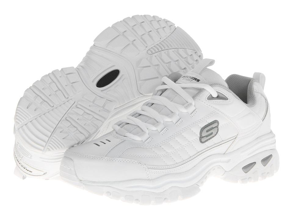 SKECHERS - Energy Afterburn (White) Men's Shoes