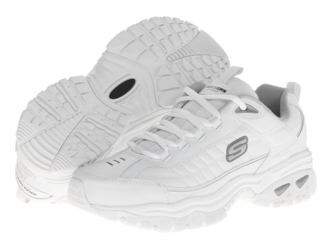 SKECHERS - Energy Afterburn (White) Men's Shoes