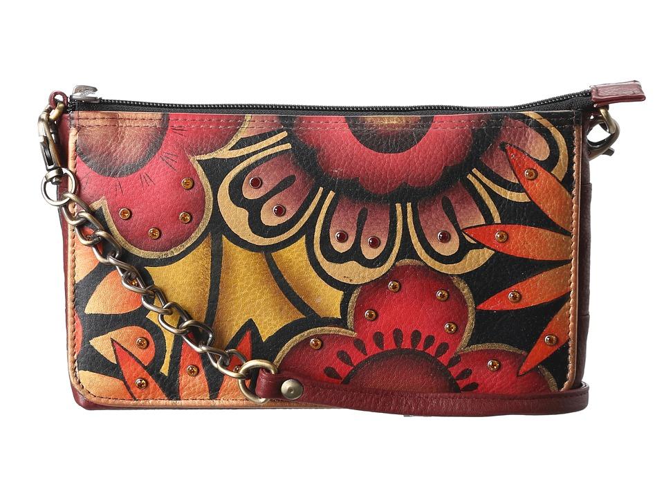 Anuschka Handbags - 519 (Retro Bloom) Cross Body Handbags