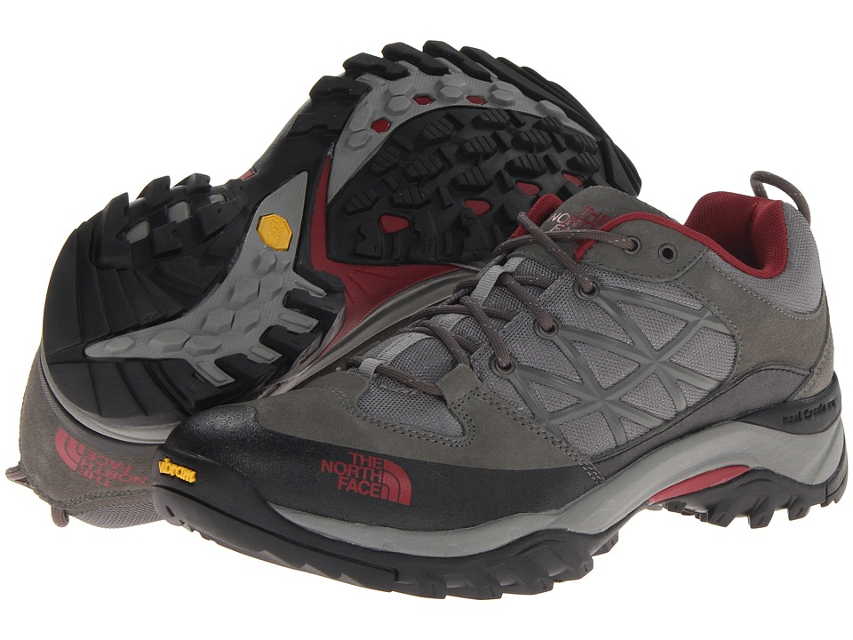 The North Face - Storm (Graphite Grey/Biking Red) Men's Shoes