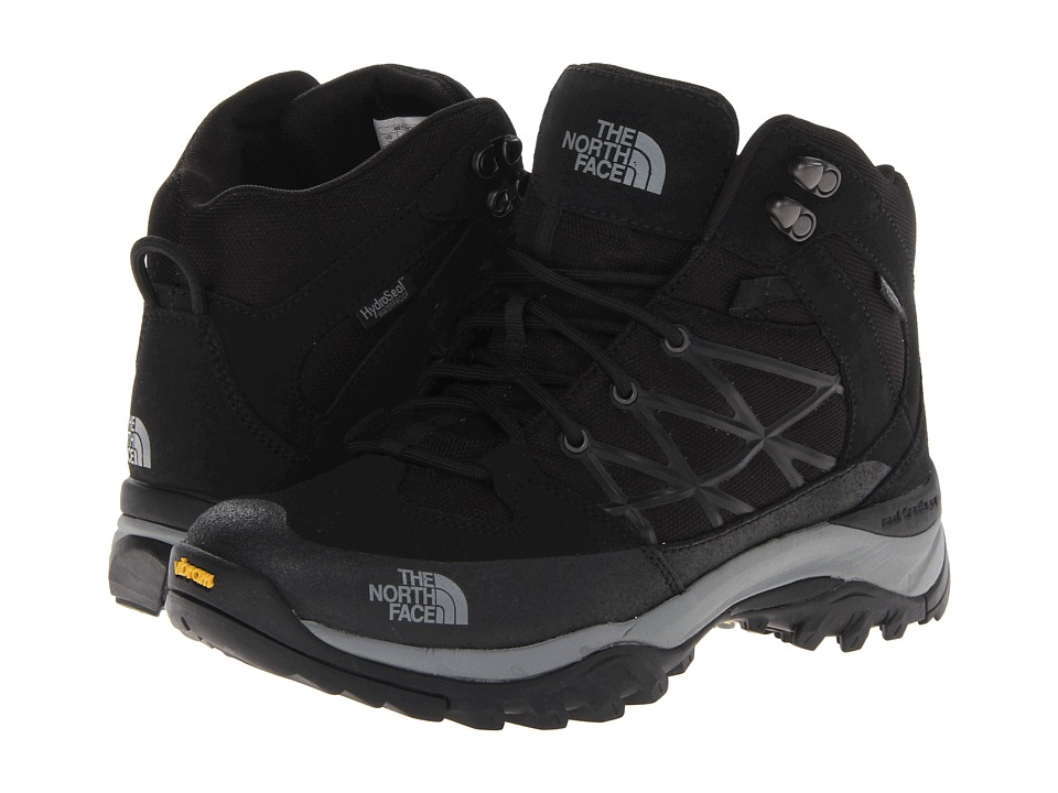The North Face - Storm Mid WP (TNF Black/Griffin Grey) Men's Hiking Boots