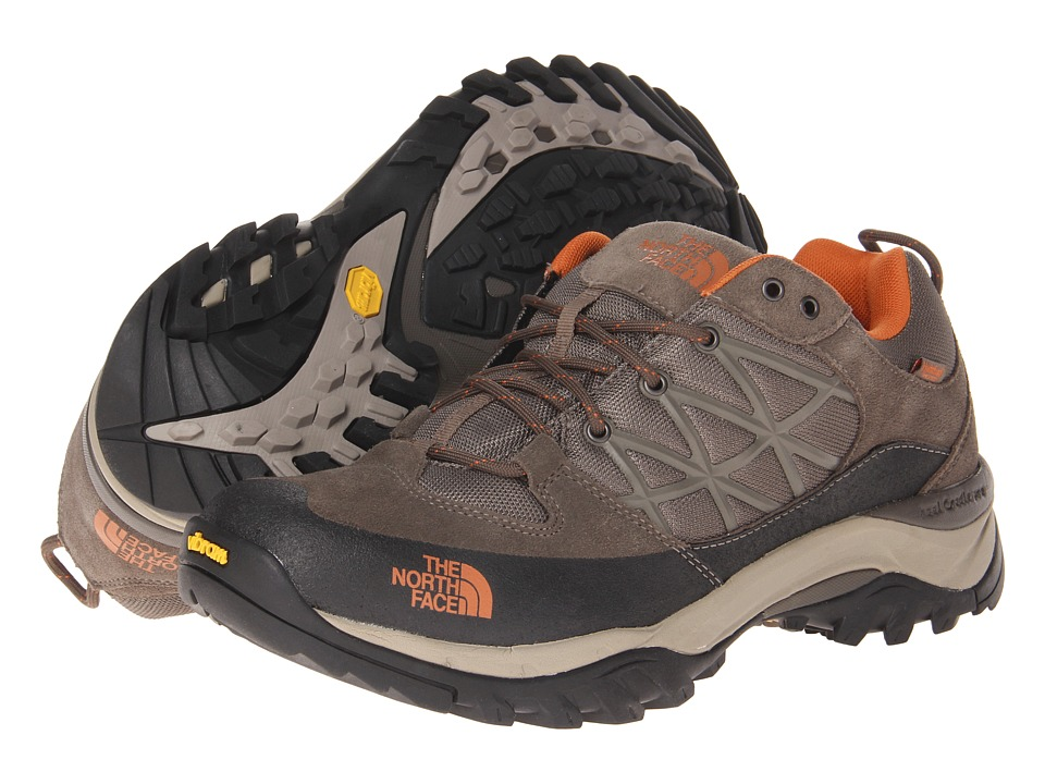 The North Face - Storm WP (Shroom Brown/Burnt Orange) Men's Shoes