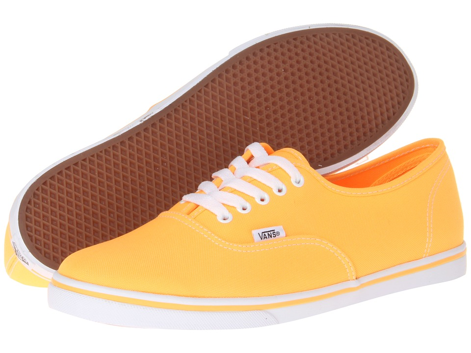 Vans - Authentic Lo Pro ((Neon) Orange Pop) Skate Shoes