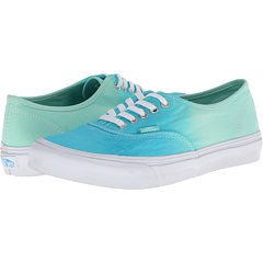 Authentic Slim ((Ombre) Cloisonne/Icy Green) Skate Shoes