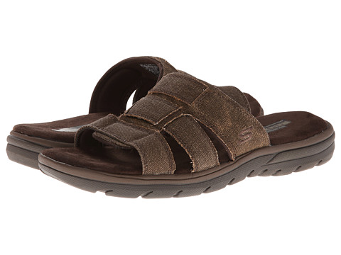 SKECHERS - Supreme-Glade (Brown) Men's Sandals