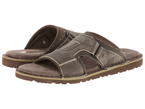 SKECHERS - Golson-Volume (Stone) Men's Sandals