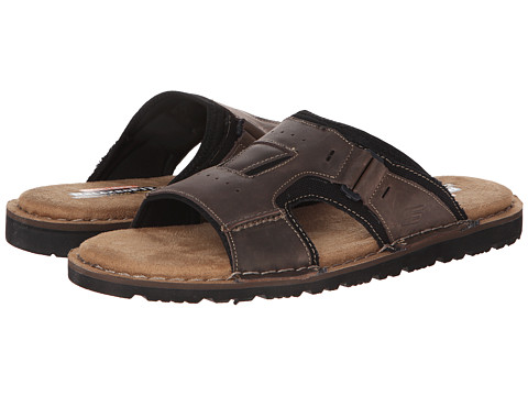SKECHERS - Golson-Volume (Dark Brown) Men's Sandals