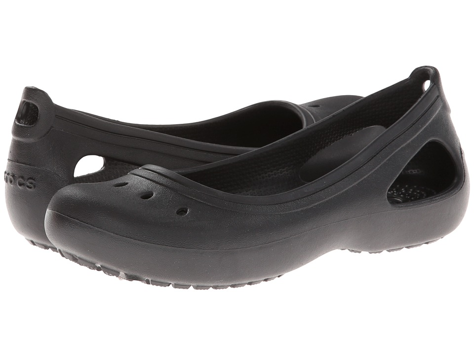 Crocs Kids - Kadee Girls (Little Kid/Big Kid) (Black) Girls Shoes