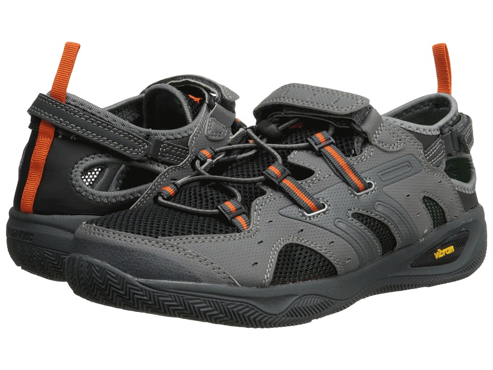 Hi-Tec - Rio Adventure (Black/Charcoal/Flame) Men's Shoes