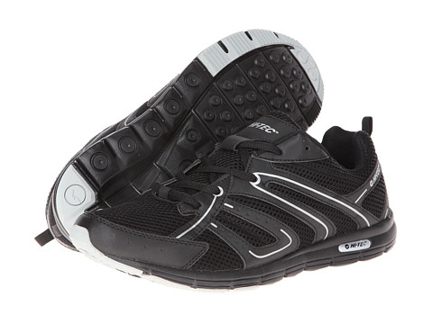 Hi-Tec - Darwen (Black/Silver) Men's Shoes