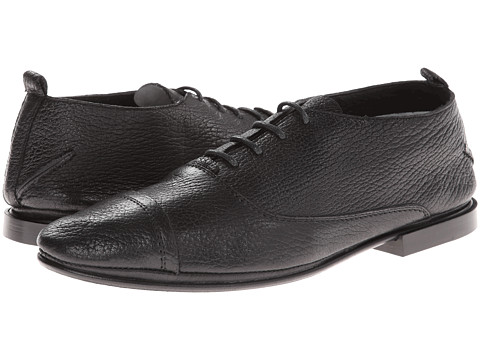 CoSTUME NATIONAL - Cap Toe Oxford (Black) Men