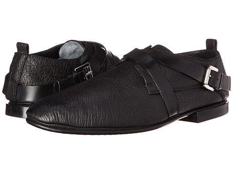 CoSTUME NATIONAL - Buckle Shoe (Black) Men