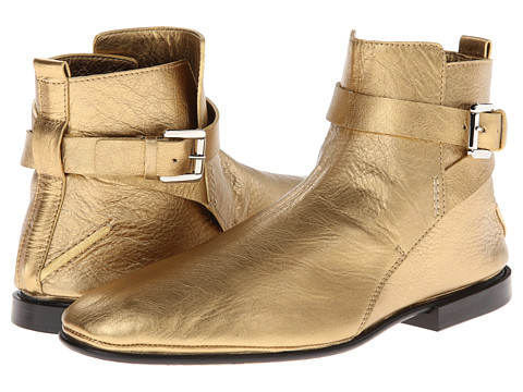 CoSTUME NATIONAL - Ankle Boot (Gold) Men's Boots