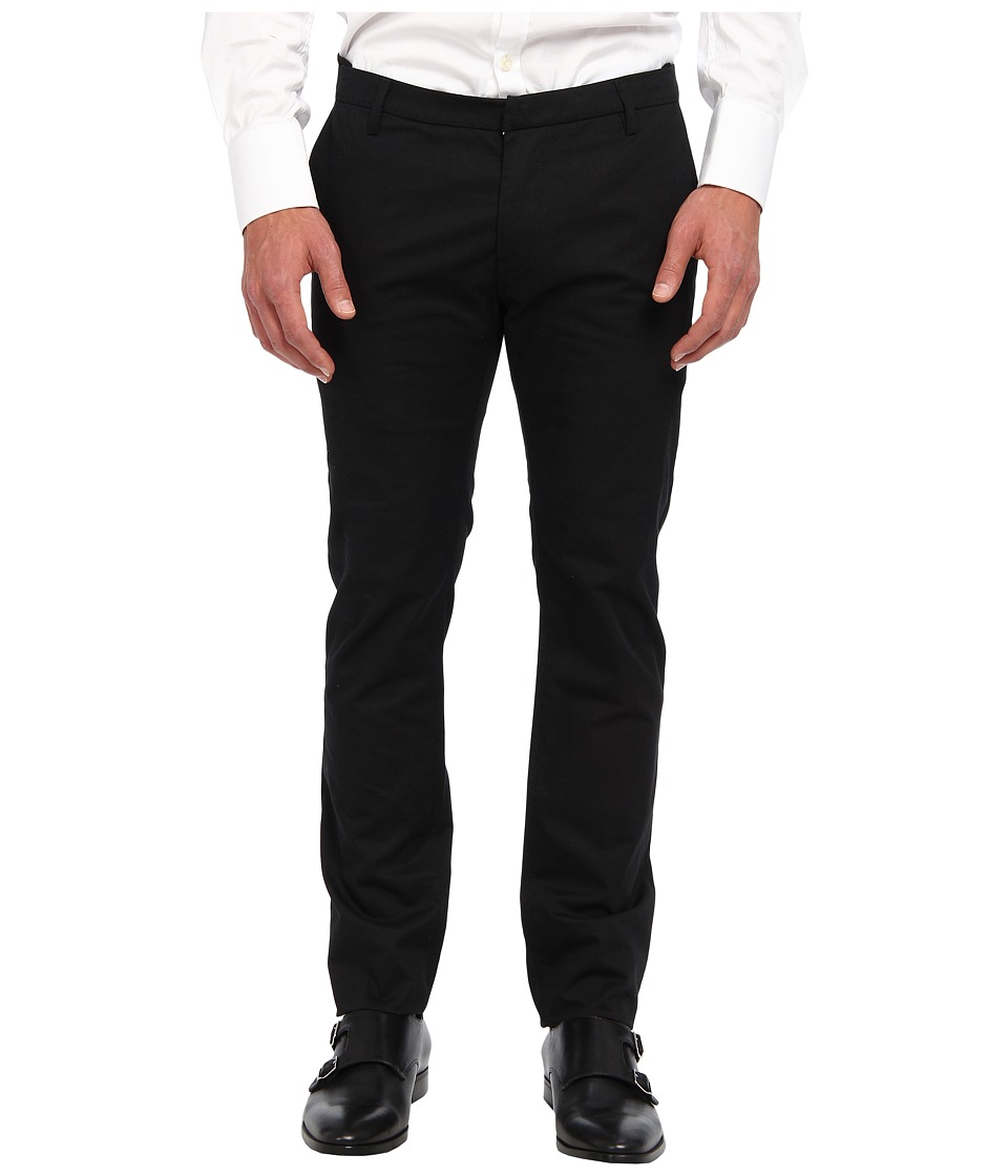 CoSTUME NATIONAL - Pant (Black) Men's Casual Pants
