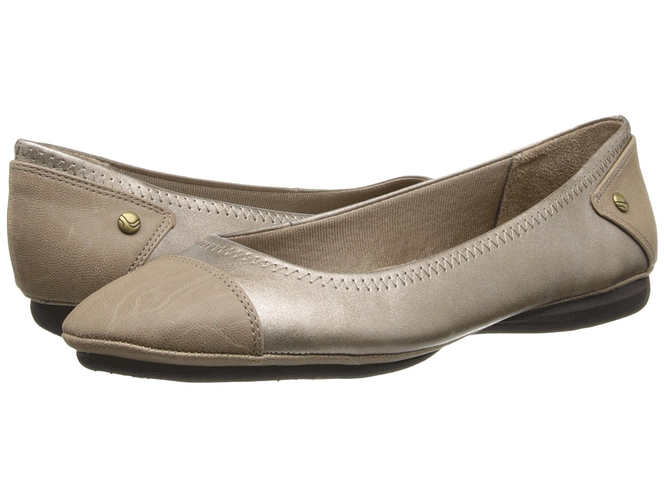 LifeStride - Allito (Champagne Soft Metallic) Women's Slip on Shoes