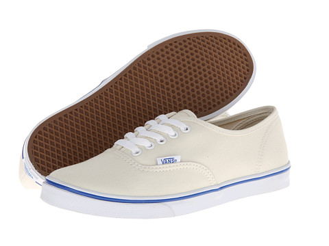 Vans - Authentic Lo Pro (White/True White) Skate Shoes