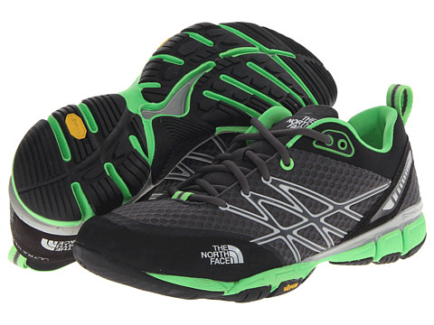 The North Face - Ultra Kilowatt (Dark Shadow Grey/Power Green) Men's Shoes