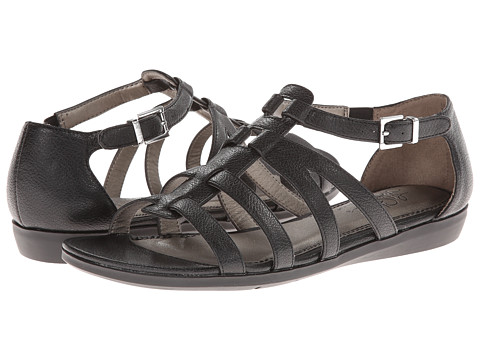 LifeStride - Flatiator (Black Sunflower) Women's Sandals