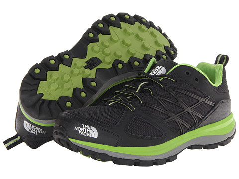 The North Face - Litewave (TNF Black/Tree Frog Green) Men's Shoes
