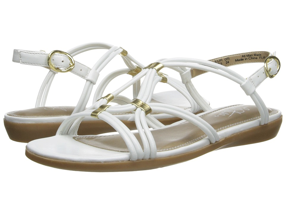 LifeStride - Flirt (Brite White Tess) Women's Sandals