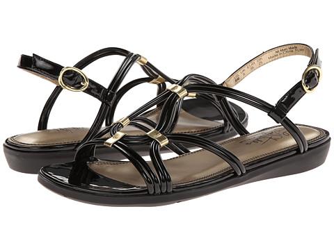 LifeStride - Flirt (Black Super Soft Patent) Women's Sandals