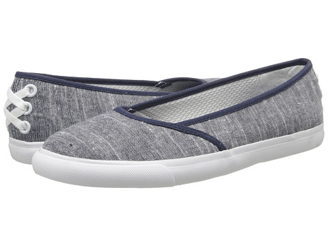 LifeStride - Invest Too (Navy Tropez Fabric) Women's Slip on Shoes