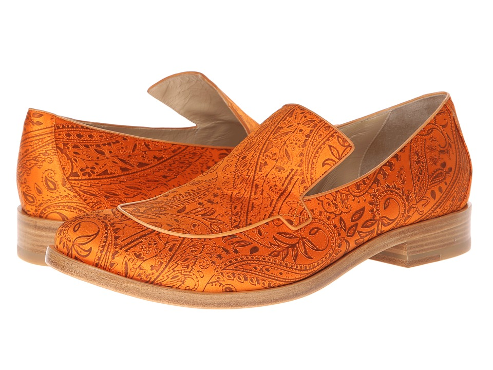 Vivienne Westwood - Ismael Loafer (Orange) Men's Slip-on Dress Shoes