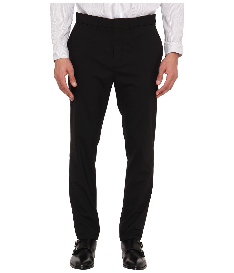 McQ - Nasty Tailored Classic Slim Trouser (Darkest Black) Men's Dress Pants