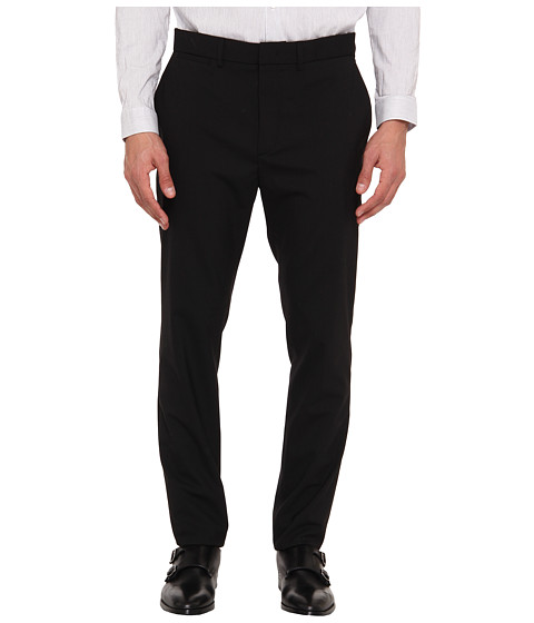 McQ - Nasty Tailored Classic Slim Trouser (Darkest Black) Men