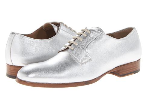 Alexander McQueen - Albert Derby (Silver) Men's Shoes