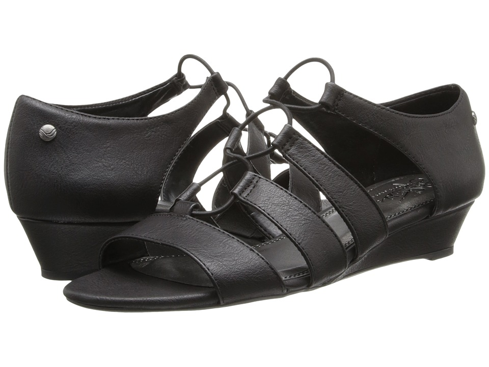 LifeStride - Yolder (Black Goodland) Women's Wedge Shoes