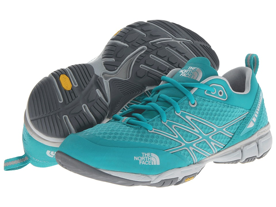 The North Face - Ultra Kilowatt (Jaiden Green/High Rise Grey) Women's Shoes