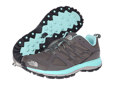 The North Face - Litewave (Shroom Brown/Beach Glass Green) Women's Running Shoes