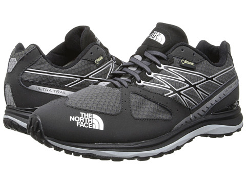 The North Face - Ultra Trail GTX (Dark Shadow Grey/Metallic Silver) Men