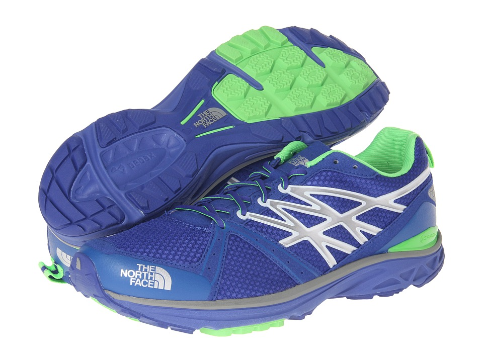 The North Face - Single-Track Hayasa II (Honor Blue/Power Green) Men's Running Shoes