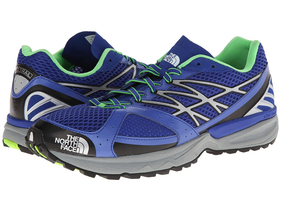 The North Face - GTD Trail (Honor Blue/Power Green) Men's Shoes