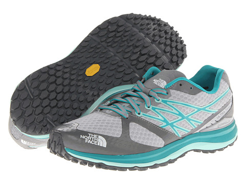 The North Face - Ultra Trail (High Rise Grey/Jaiden Green) Women