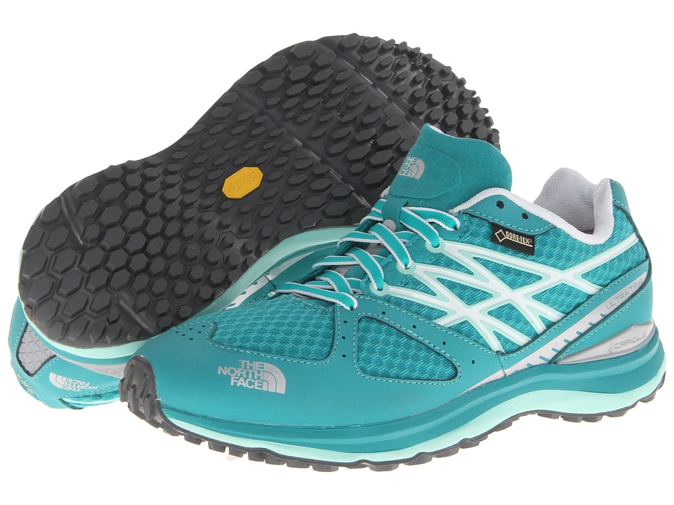The North Face - Ultra Trail GTX (Jaiden Green/Beach Glass Green) Women