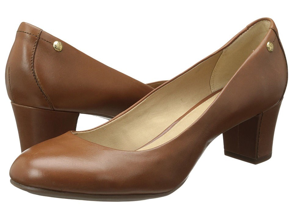 Hush Puppies - Imagery Pump (Tan Leather) High Heels