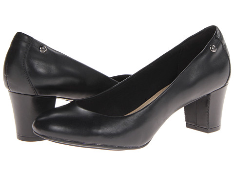 Hush Puppies - Imagery Pump (Black Leather) High Heels