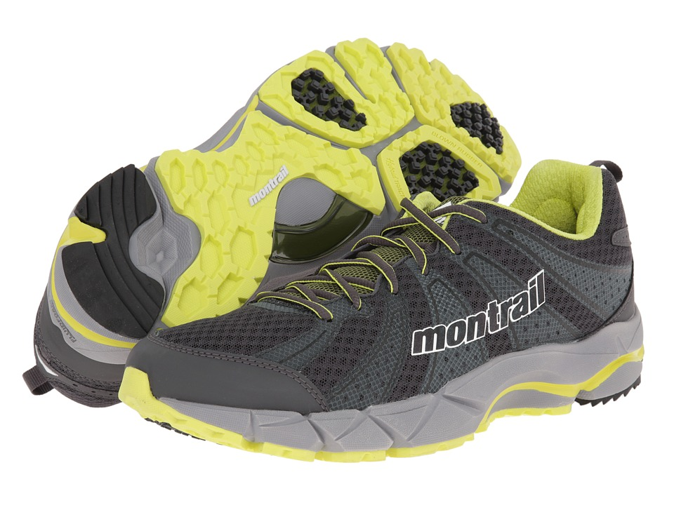 Montrail - Fluidfeel II (Grill/White) Men's Shoes