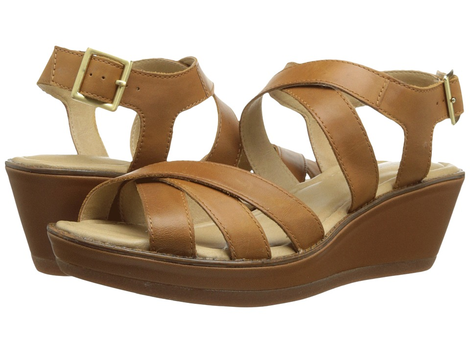 Hush Puppies - Roux X-Band (Tan) Women's Wedge Shoes