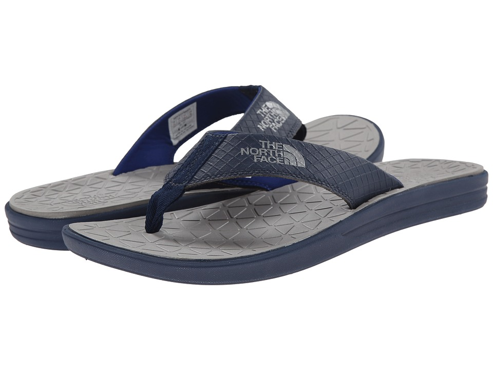 The North Face - Base Camp Lite Flip Flop (Cosmic Blue/Griffin Grey) Men's Sandals