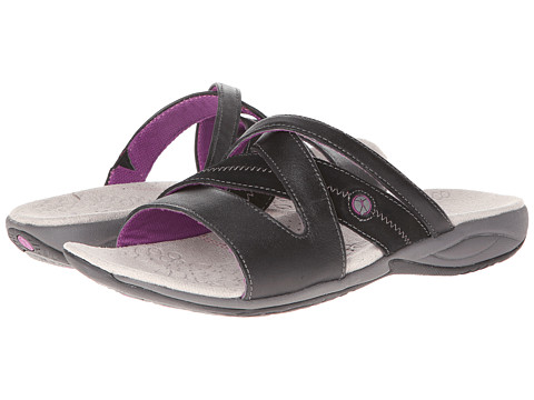 Hush Puppies - Zendal Slide X-Brand (Black) Women's Sandals