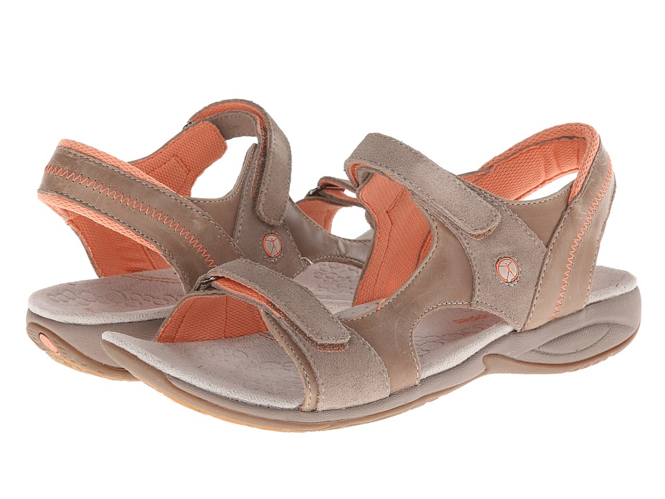 Hush Puppies - Zendal Qtr Strap (Taupe) Women's Sandals