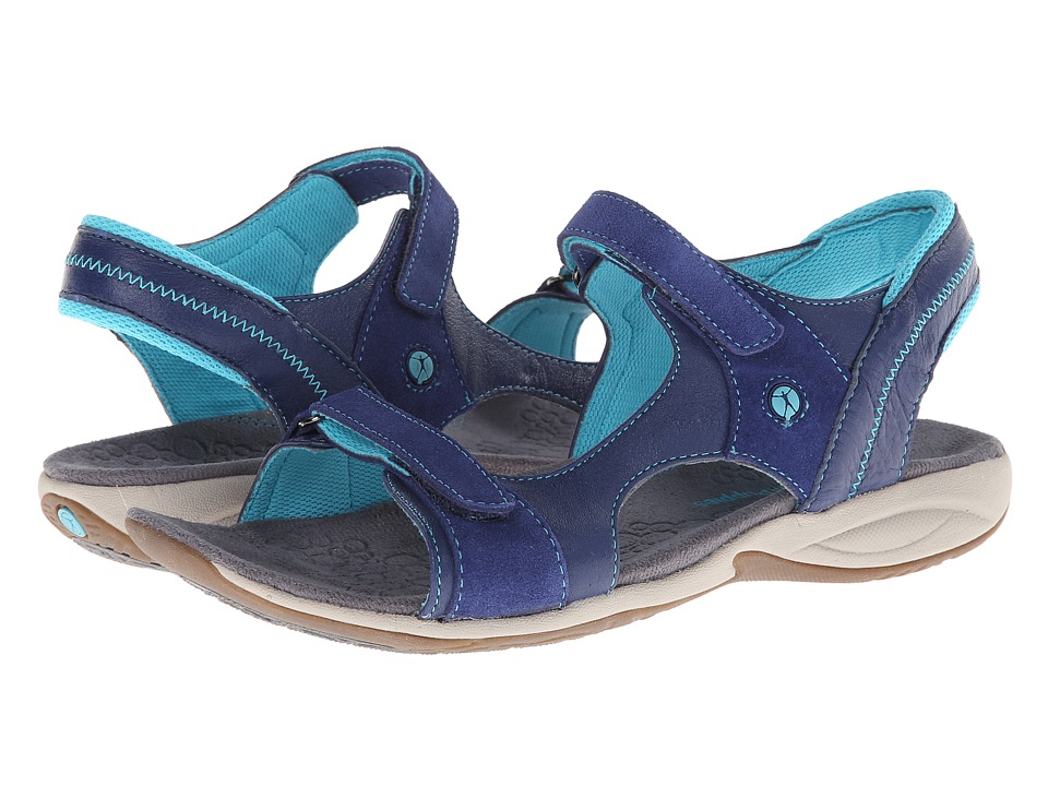 Hush Puppies - Zendal Qtr Strap (Navy) Women's Sandals