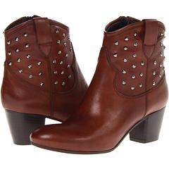 Sesto Meucci Funny (Dark Tan Silk Calf) Footwear