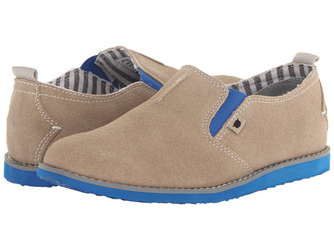 Florsheim Kids - Hifi Plain Slip Jr. (Toddler/Little Kid/Big Kid) (Tan) Boys Shoes