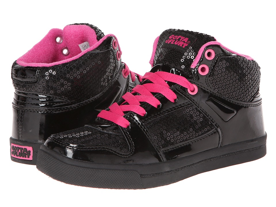 gotta FLURT - Swerve (Black) Women's Lace up casual Shoes