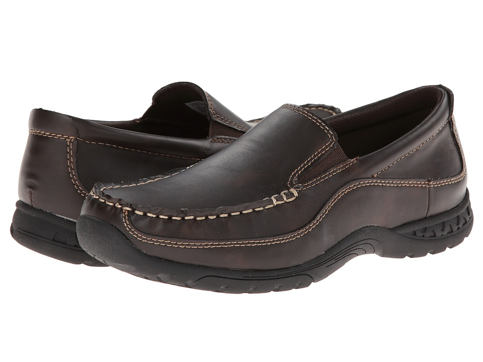 Florsheim Kids - Driftwood Slip, Jr. (Toddler/Little Kid/Big Kid) (Brown) Boys Shoes